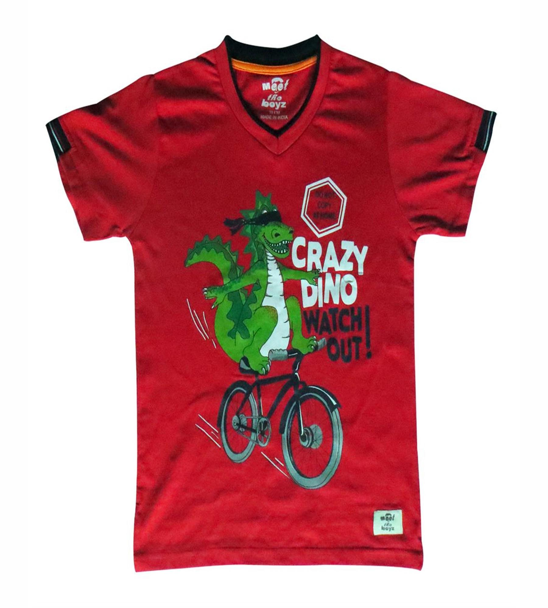 Kothari Boys Red T.Shirt