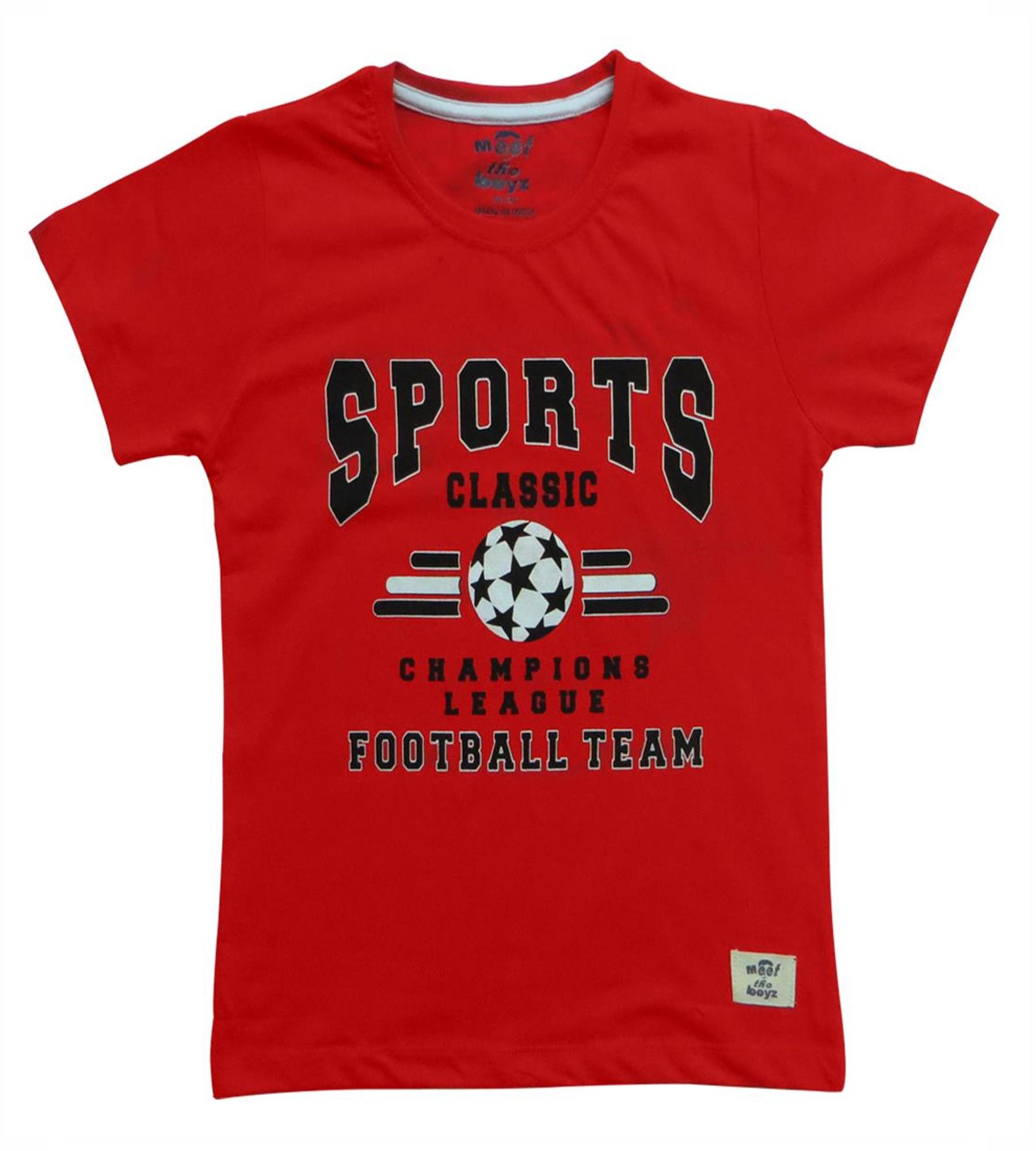 Kothari Boys Red Summer Tshirt