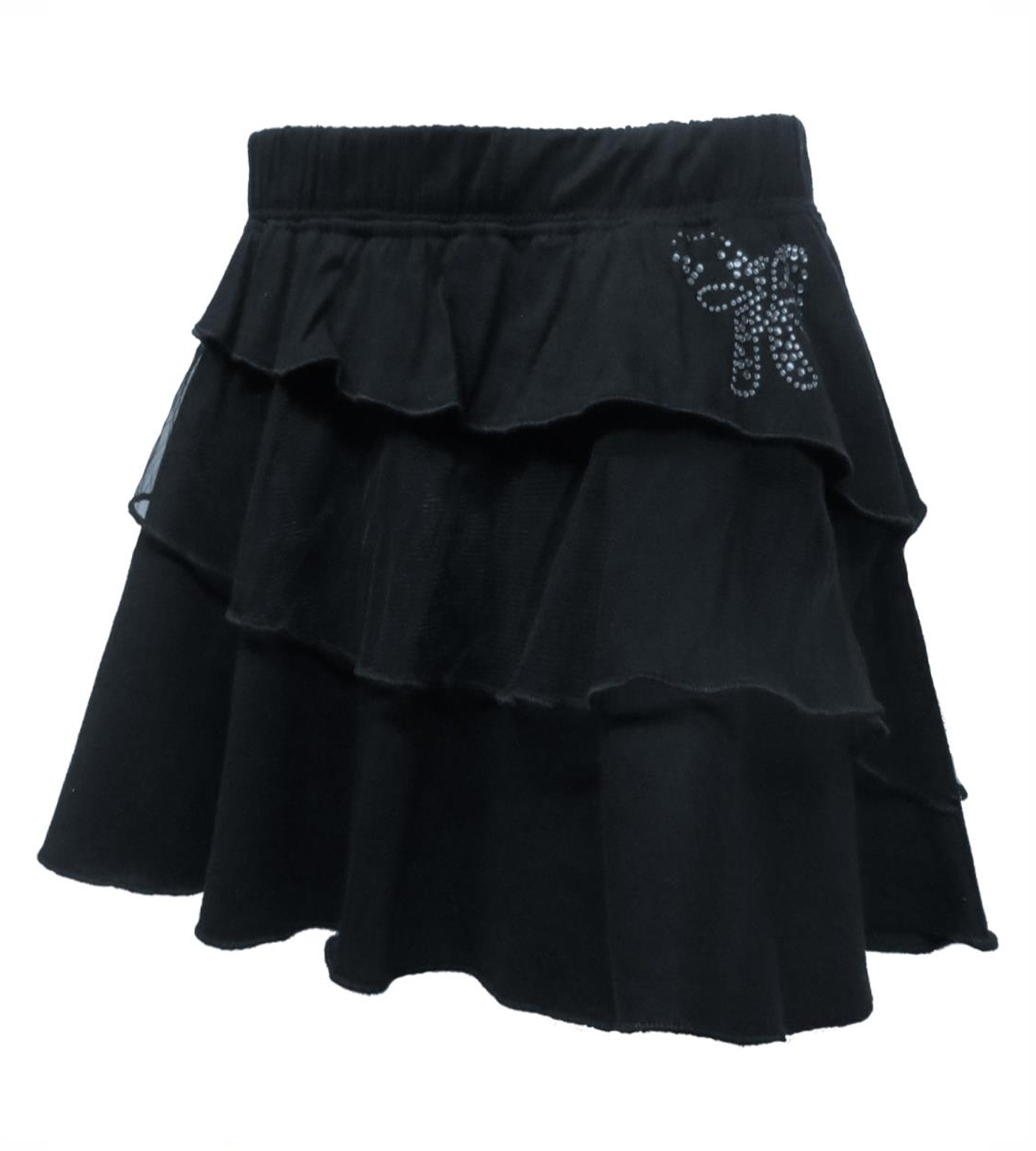Kothari  solid navy Skirt for Girls